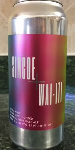 Double Dry Hopped Simcoe + Wai-iti