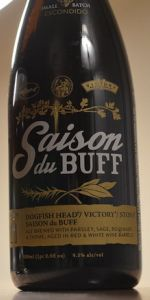 Stone / Dogfish Head / Victory - Saison Du BUFF - Red & White Wine Barrel-A