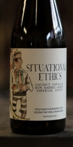 Situational Ethics - Rum Barrel Aged with Coconut and Vanilla