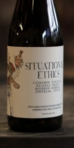 Situational Ethics - Bissell Maple Bourbon Barrel