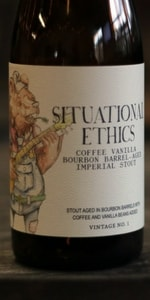 Situational Ethics - Bourbon Barrel Aged with Coffee and Vanilla