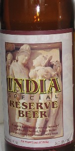 India Special Reserve Beer