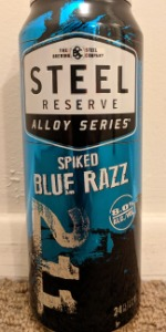 Steel Reserve (Alloy Series) Spiked Blue Razz