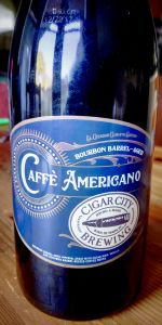 Bourbon Barrel-aged Caffè Americano