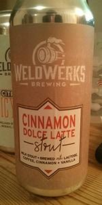 Cinnamon Dolce Latte Stout
