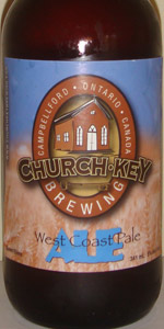 Church-Key West Coast Pale Ale