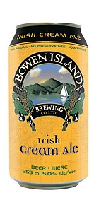 Bowen Island Irish Cream Ale