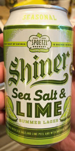 Sea Salt & Lime Summer Lager