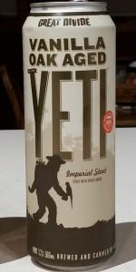 Vanilla Oak Aged Yeti
