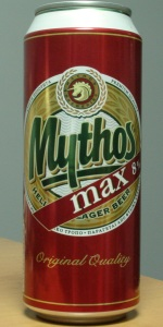 Mythos Max 8% Helenic Lager Beer