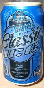 Milwaukee Premium Brewing Company Classic Ice