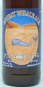 Wheat Whale Ale