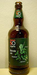 Sainsbury's SO Organic Blonde Ale