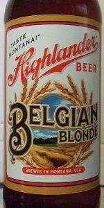 Highlander Belgian Blonde