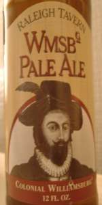 Raleigh Tavern Williamsburg Pale Ale
