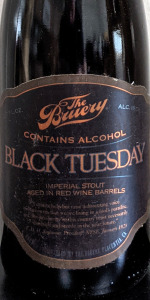 Black Tuesday - Red Wine Barrel-Aged