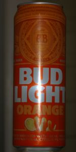 Bud Light Orange