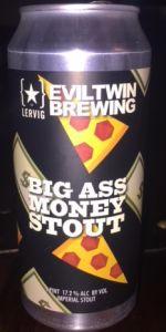 Evil Twin / Lervig - Big Ass Money Stout 3