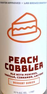 Braxton Labs Peach Cobbler