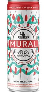 New Belgium / Cervecería Primus - Mural Aqua Fresca