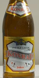 Konrad Jocker Svìtlý Ležák 14°