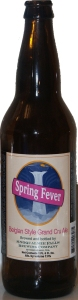Spring Fever Belgian Style Grand Cru Ale
