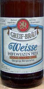Greif-Bräu Weisse
