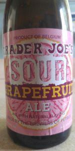 Trader Joe's Sour Grapefruit Ale