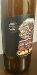 Game Over - Double Peach w/ Mexican Vanilla Beans