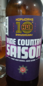 Vine Country Saison (Pinot Noir Barrel-Aged)