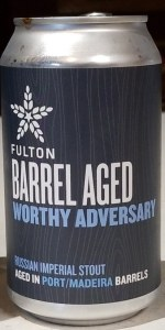 Barrel Aged Worthy Adversary (Port/Madeira)