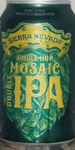 Single Hop Mosaic Double IPA
