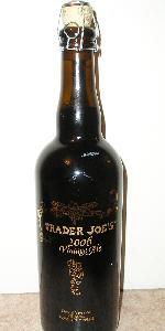 Trader Joe's 2006 Vintage Ale