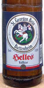 St. Georgenbräu Helles Vollbier
