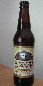 Brewer's Cave Golden Caramel Lager (Blue Diamond Brewing Company)
