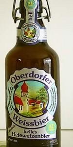 Oberdorfer Hefeweizen Hell