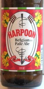 Harpoon Belgian Pale Ale