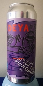 invoice me for the microphone deya brewing company beeradvocate