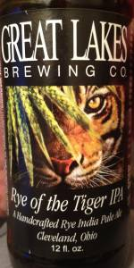 Rye Of The Tiger IPA