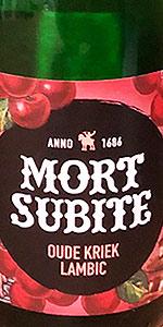 Mort Subite Oude Kriek