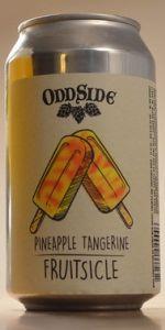 Pineapple Tangerine Fruitsicle