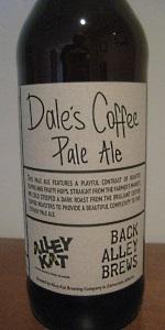 Dale's Coffee Pale Ale