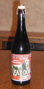 Stoudt's Barrel Aged  Fat Dog (Imperial Oatmeal Stout)