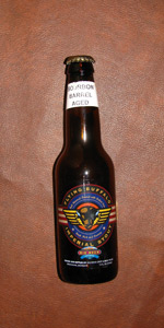 Bourbon Barrel Aged Flying Buffalo Imperial Stout