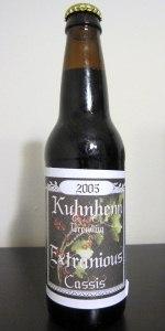 Kuhnhenn Extraneous Ale (Cassis)