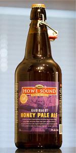 Garibaldi Honey Pale Ale