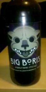 Big Boris Barleywine
