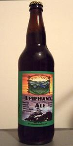 Epiphany Ale