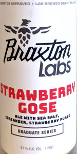 Strawberry Gose