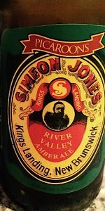 Simeon Jones River Valley Amber Ale